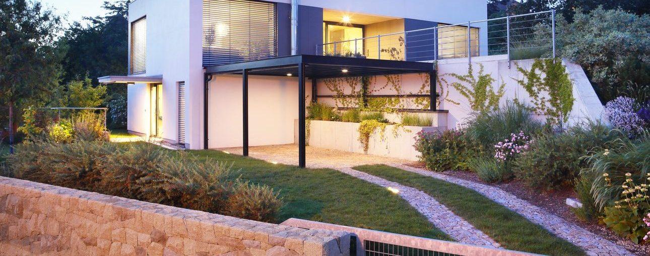 Gartengestaltung Einfamilienhaus